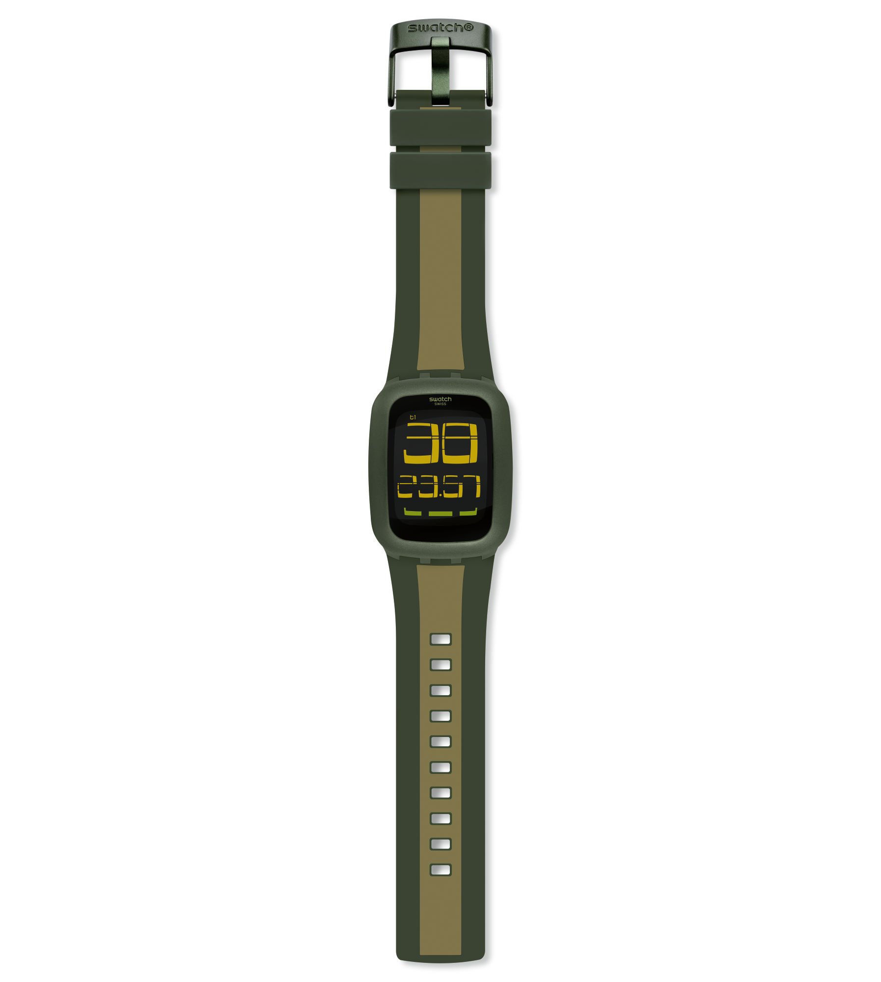 Swatch(スウォッチ)『SWATCH TOUCH OLIVE & LIGHT GREEN(SURG101D)』
