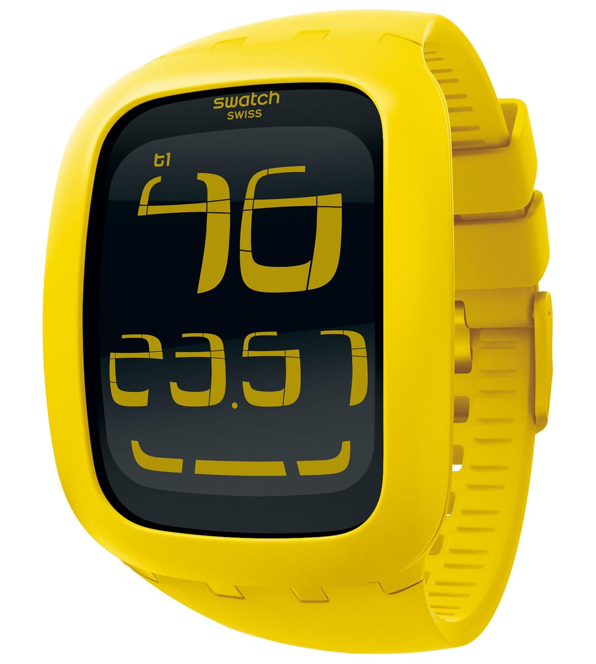 SWATCH TOUCH YELLOW - SURJ101