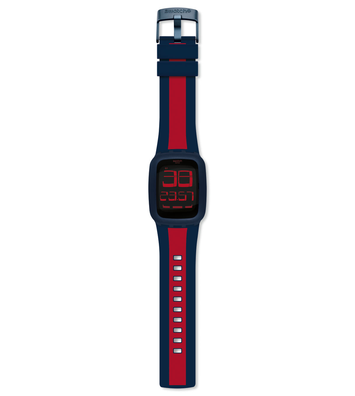 SWATCH TOUCH DARK BLUE & RED - SURN101D
