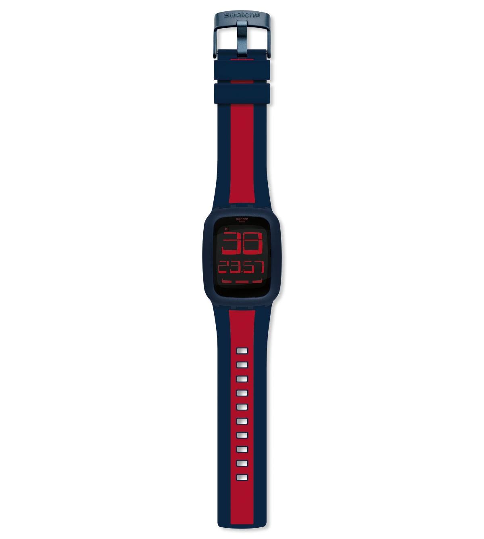 SWATCH TOUCH DARK BLUE & RED - SURN101D