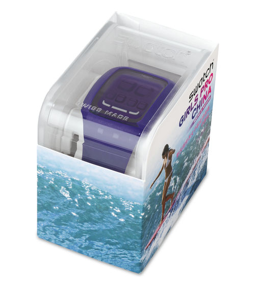 SWATCH TOUCH PURPLE/ GIRLS PRO SANYA 201