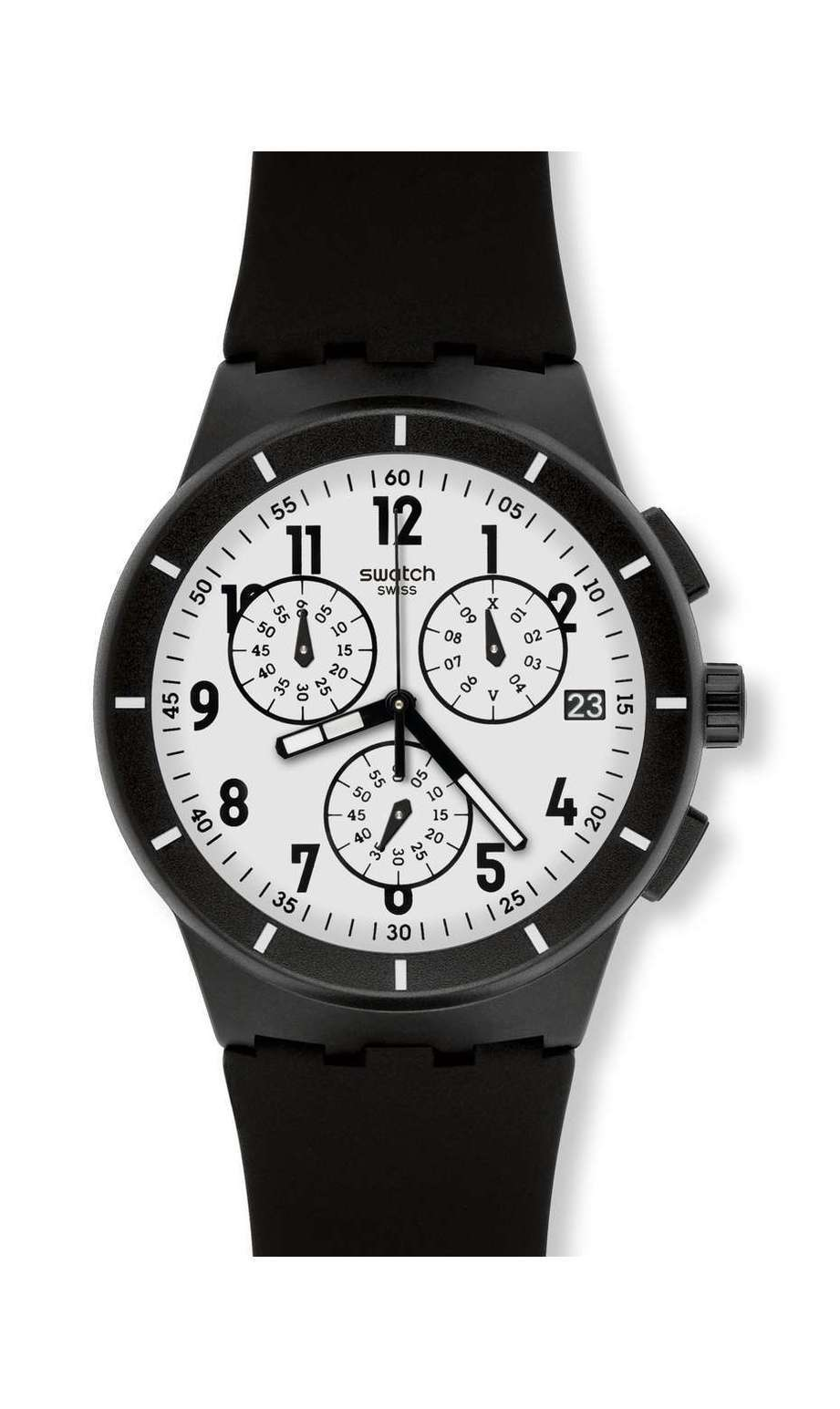 Swatch - TWICE AGAIN BLACK - 1