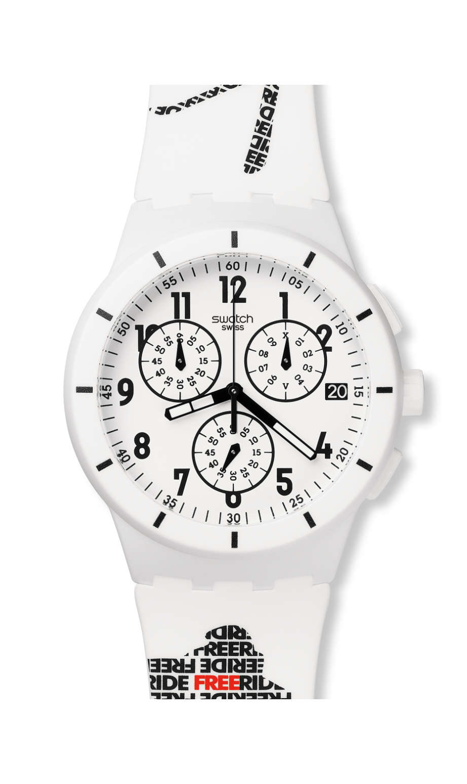 Swatch - FWT14 WHITE - 1