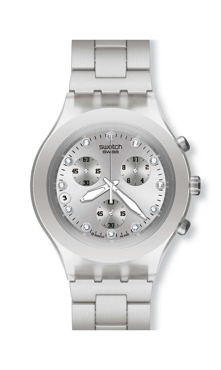 Swatch - FULL-BLOODED SILVER - 1