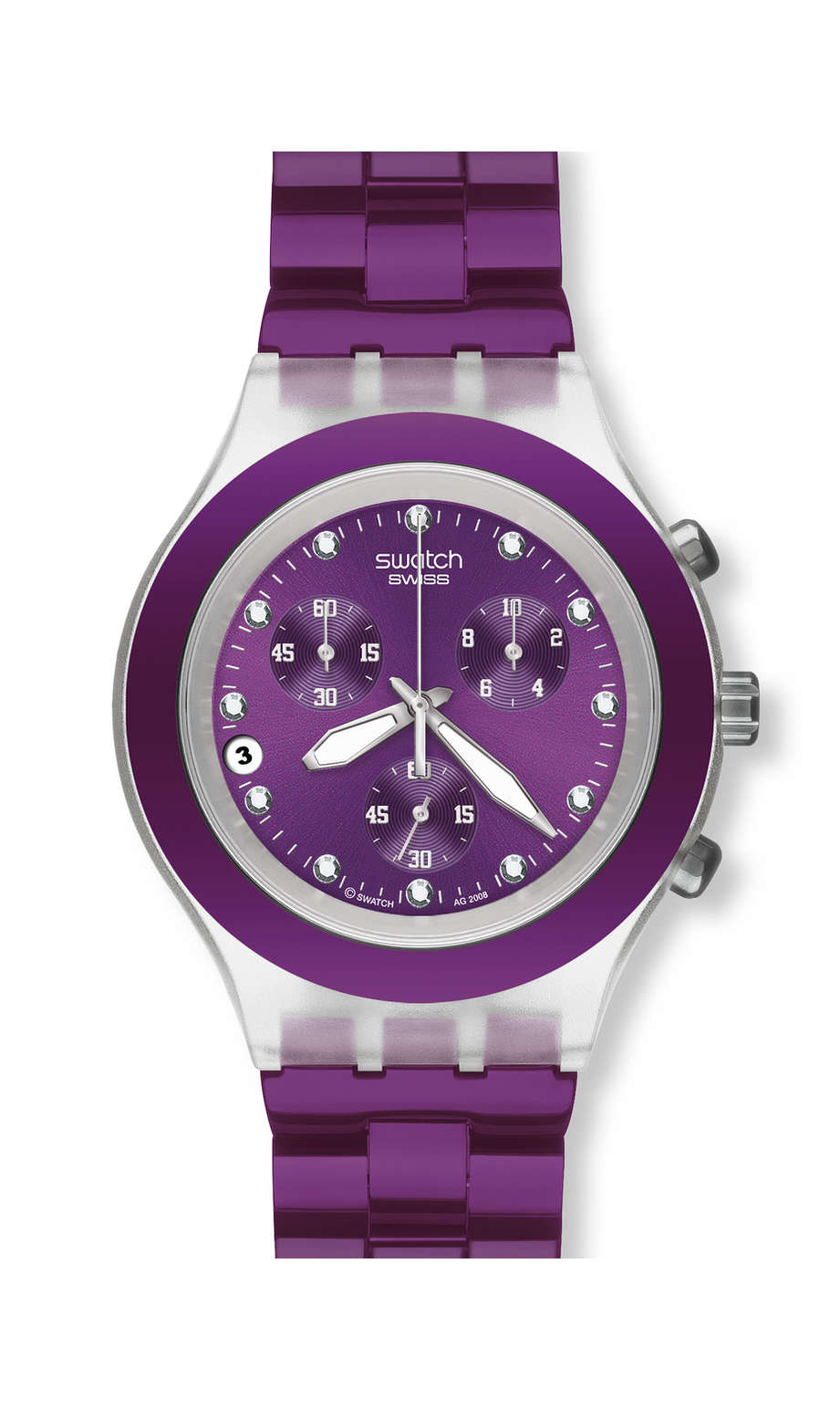 Swatch - FULL-BLOODED BLUEBERRY - 1