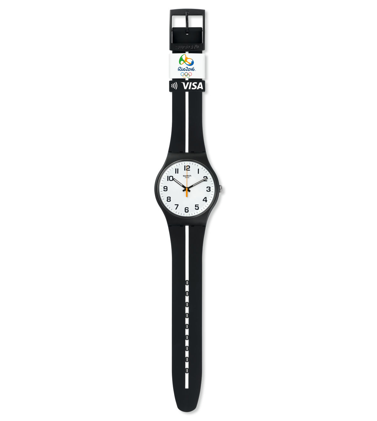 SWATCH BELLAMY WHITE LINE - SVIB101-1100