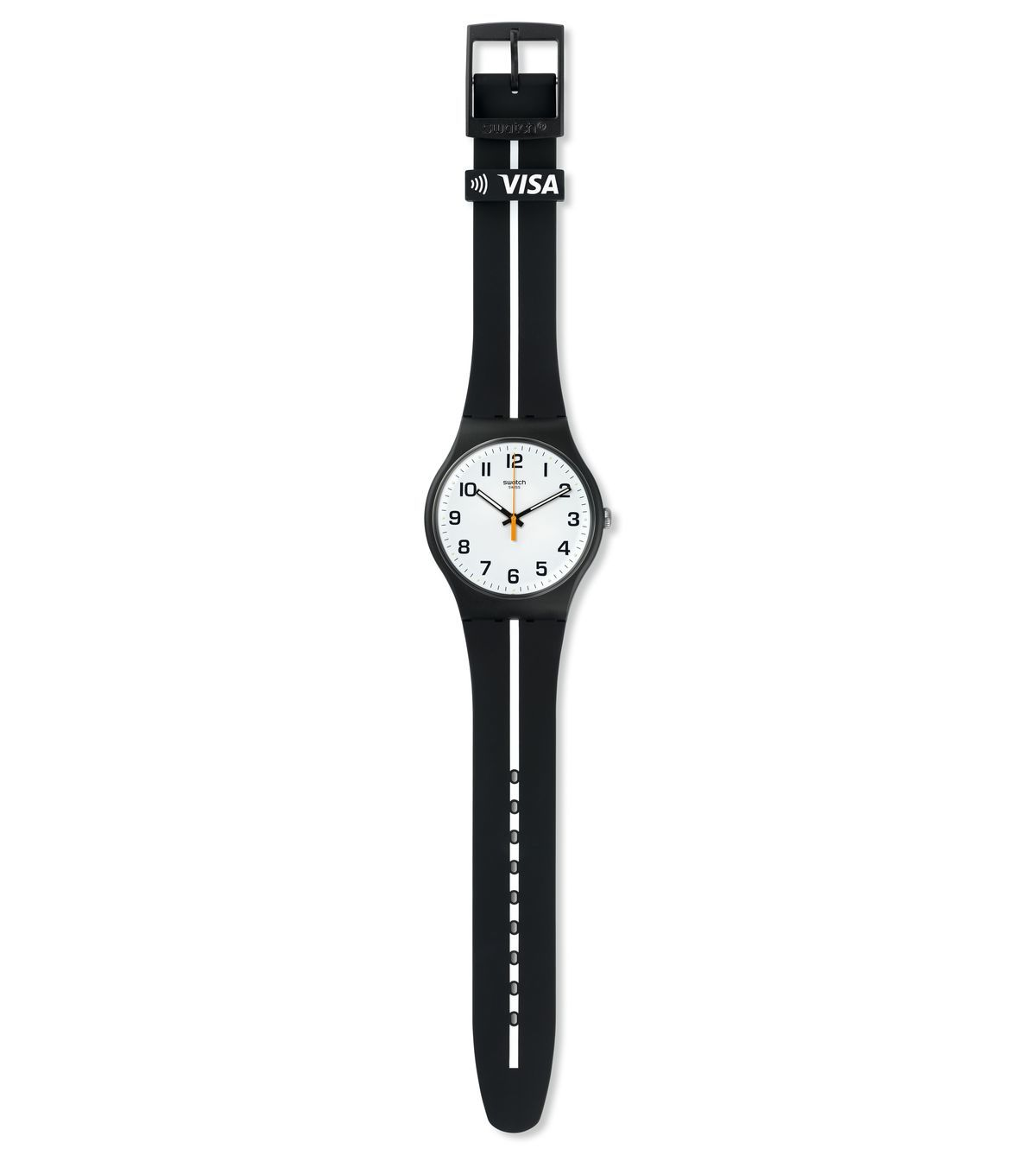 SWATCH BELLAMY WHITE LINE - SVIB101-5000