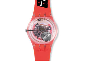 SWATCH BELLAMY CORAL