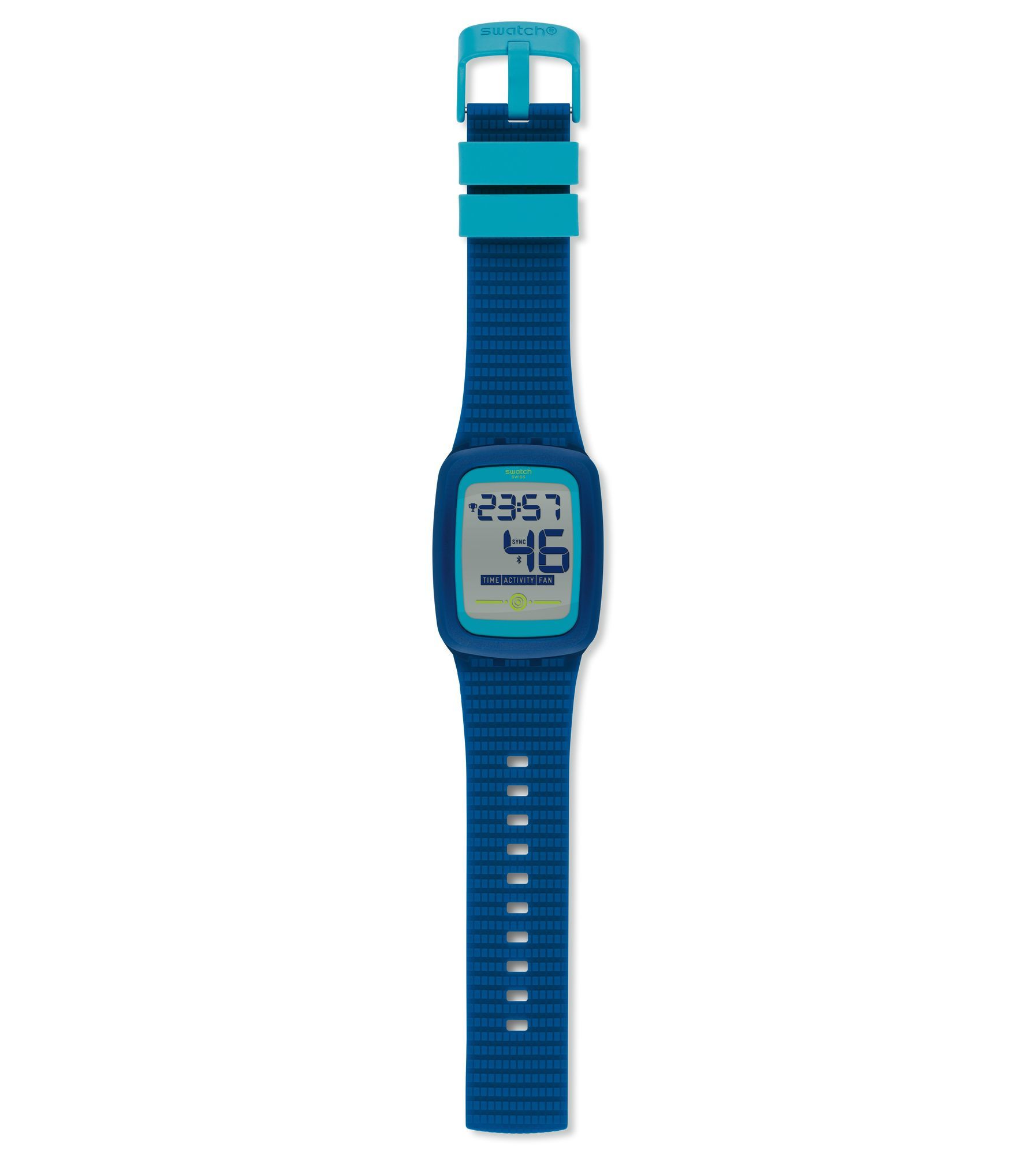 watch swatch watches blue light switch strap pin up unisex swiss rise