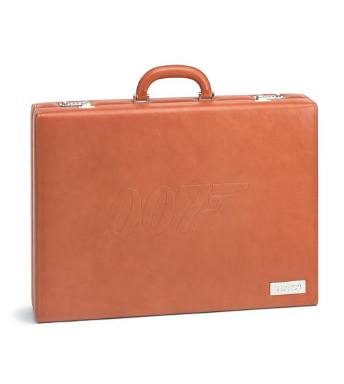 JAMES BOND LEATHER BRIEFCASE
