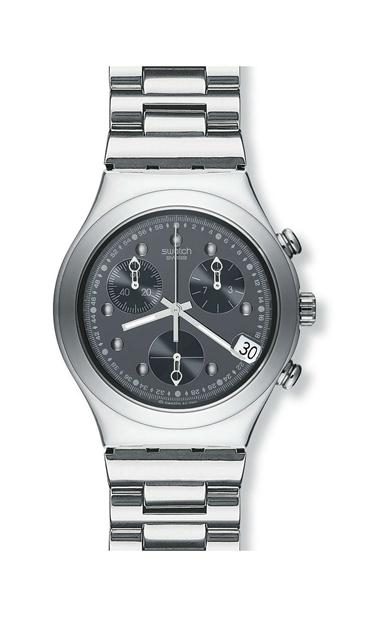 Часы swatch irony stainless steel patented water resistant four 4