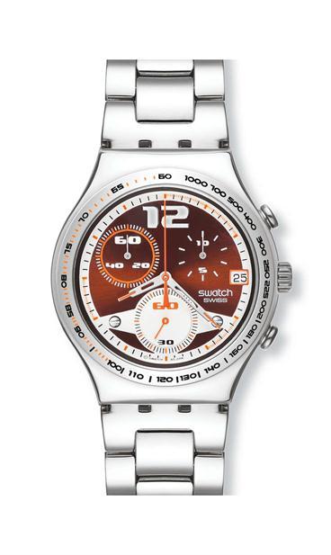 97c06a15f5e Relógios  Swatch Irony Stainless Steel