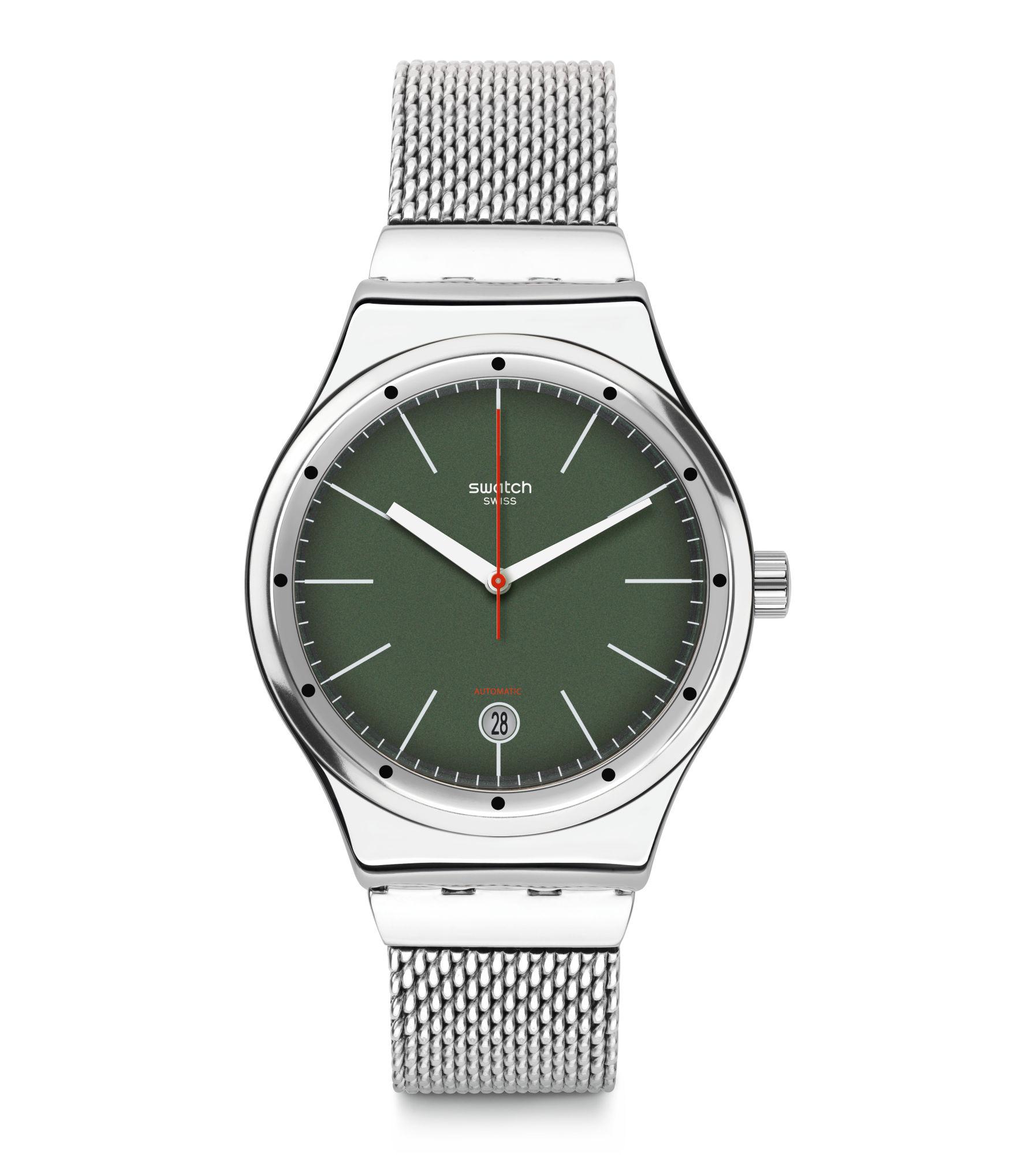Swatch® 日本 - Sistem51 (Ø 42 MM) SISTEM KAKI YIS407G