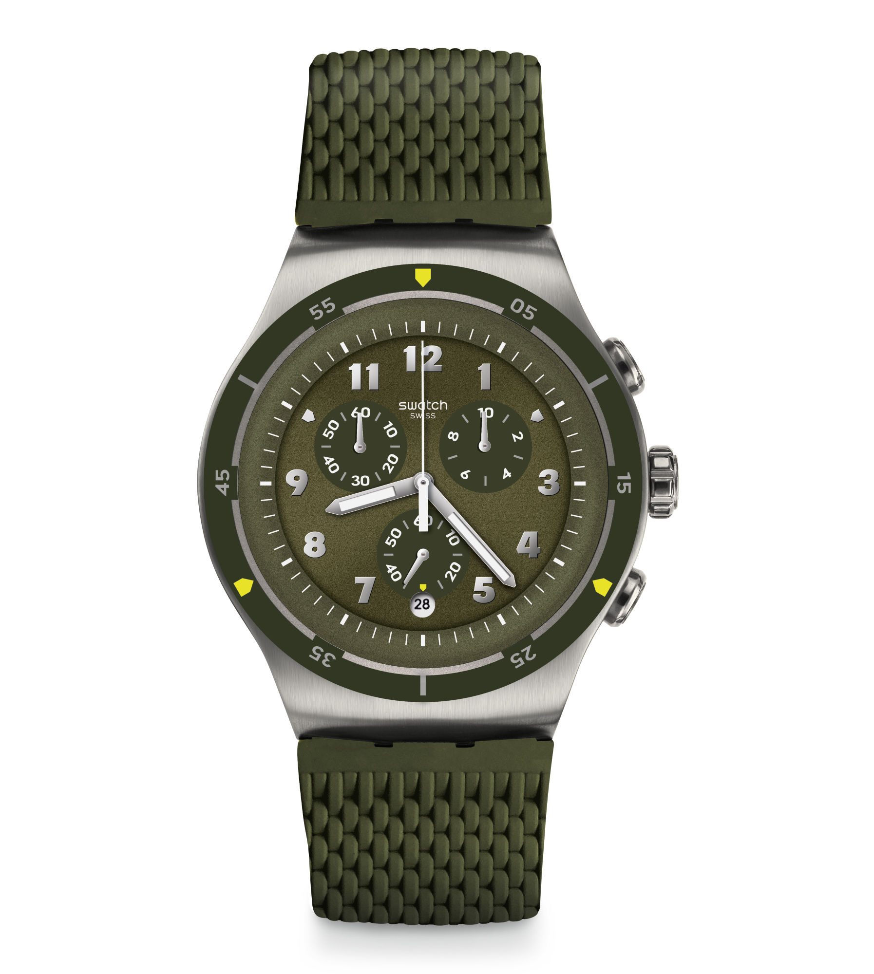 Swatch Reloj Verdes Agujas Reloj Irony Swatch Irony wOknP0