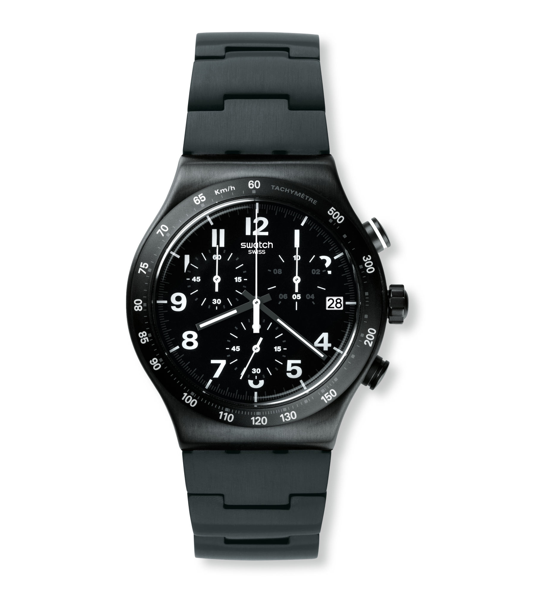 mens s swatch men chronograph pin black watch switch efficiency watches