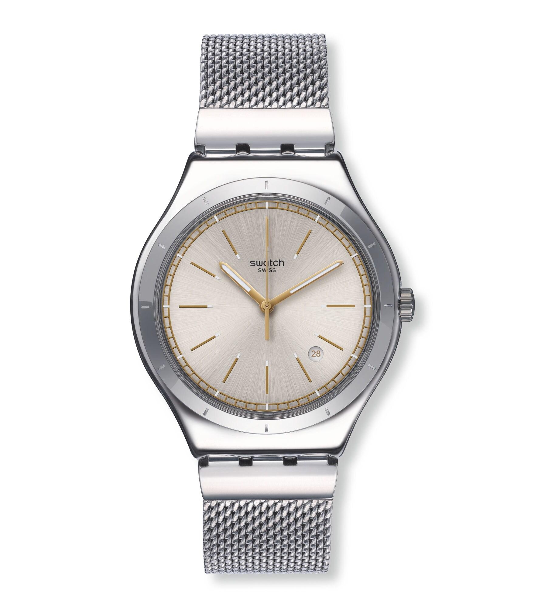 735cc35912b Swatch® Portugal - Big Classic (Ø 41 MM) MESH-UP YWS419G
