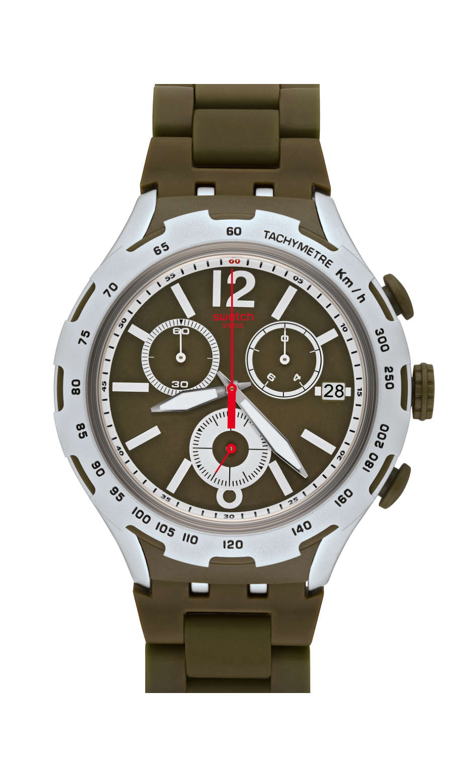 Swatch - GREEN ATTACK - 1