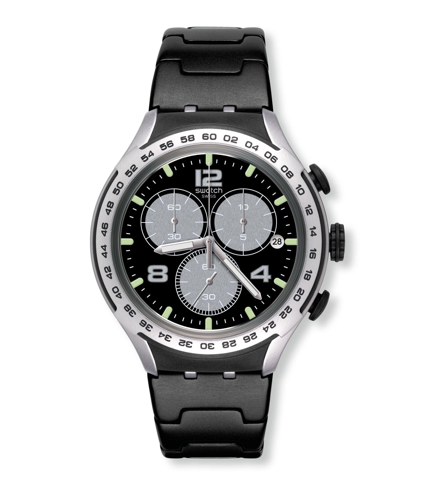 5de18a31c9c Swatch® Portugal - XLITE (Ø 41 - 45 MM) NIGHT ATTACK YYS4026AG