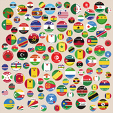 This is the Swatch canvas africaunion