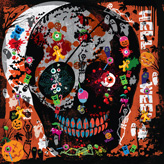 This is the Swatch canvas helloween