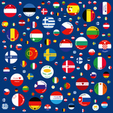 This is the Swatch canvas sceuropeanunion